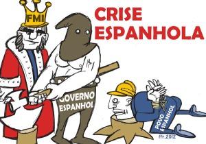 Povos europeus que estão sob governos que apertam ainda mais os cintos, em obediência cruel a organismos internacionais, experimentam o desemprego em massa e criminalidade em alta, como a Espanha