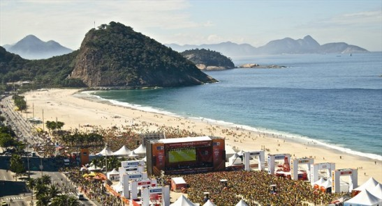Contrariando todas as previsões funestas sobre a realização da copa no Brasil, evento já é um sucesso. Fan Fests já levaram mais de 3 milhões de pessoas as ruas